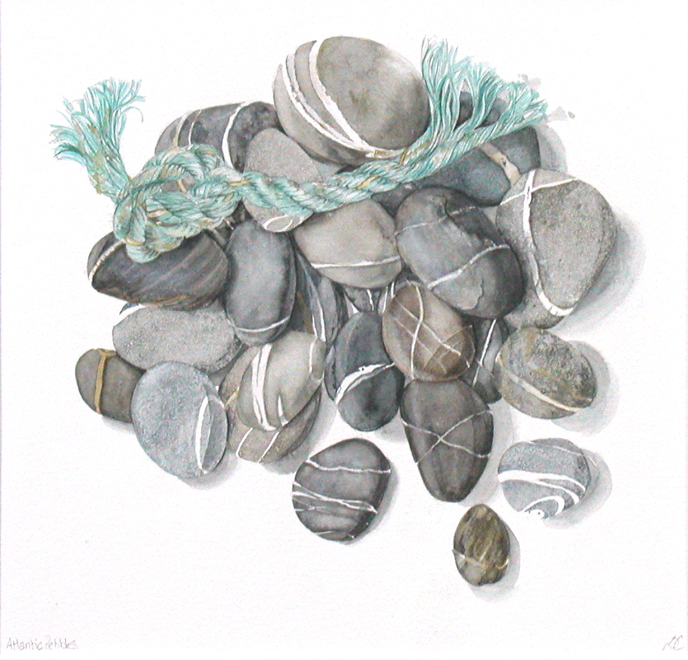 Atlantic Pebbles, Lynda Clark, Artist