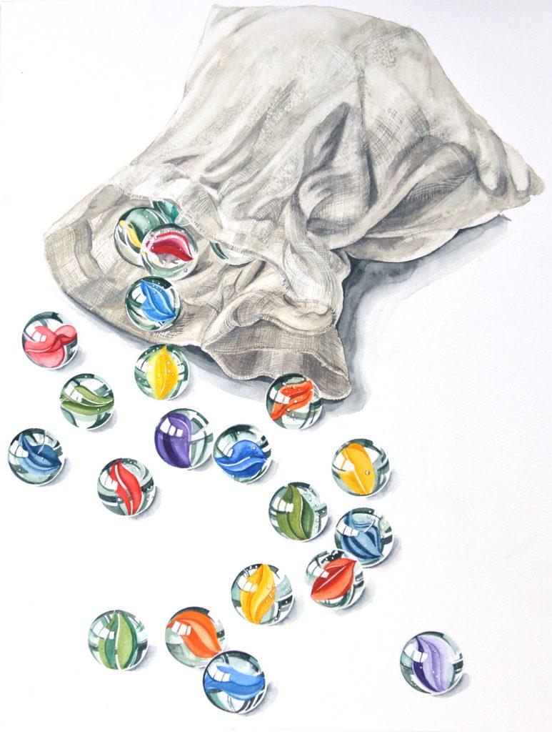 Bag of Marbles, Lynda Bird Clark