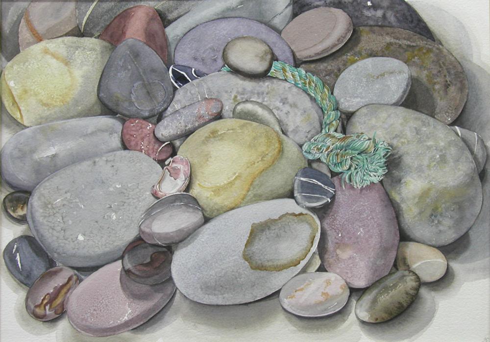 Cornish Stones, Lynda Clark, Artist