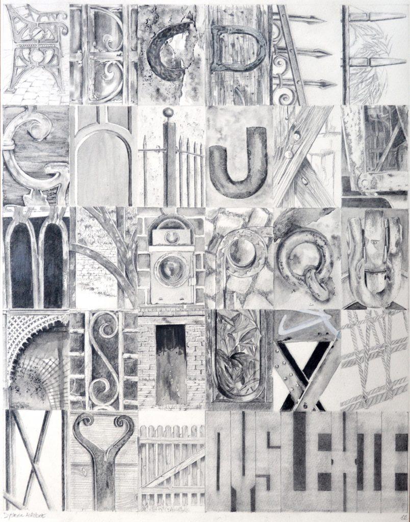 Dyslexic Alphabet, Lynda Bird Clark
