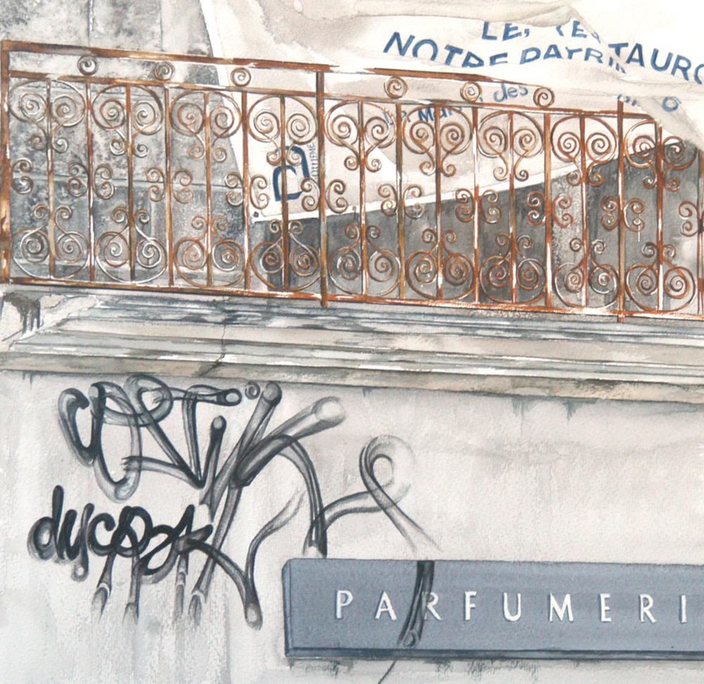Graffiti, Lynda Clark, Artist
