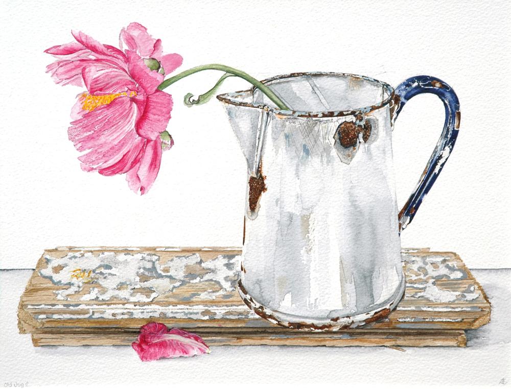 Old Jug 2, Lynda Clark, Artist
