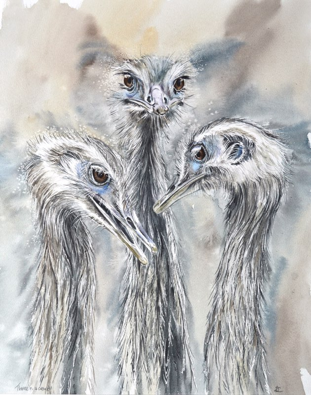 Three is a Crowd, Lynda Bird Clark