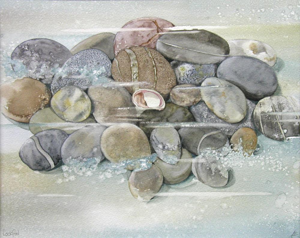 Tidal Pebbles, Lynda Clark, Artist