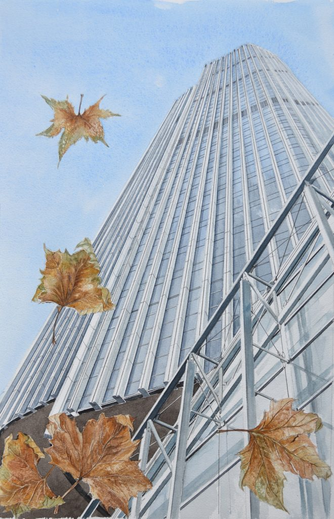 Tower 42, Lynda Bird Clark