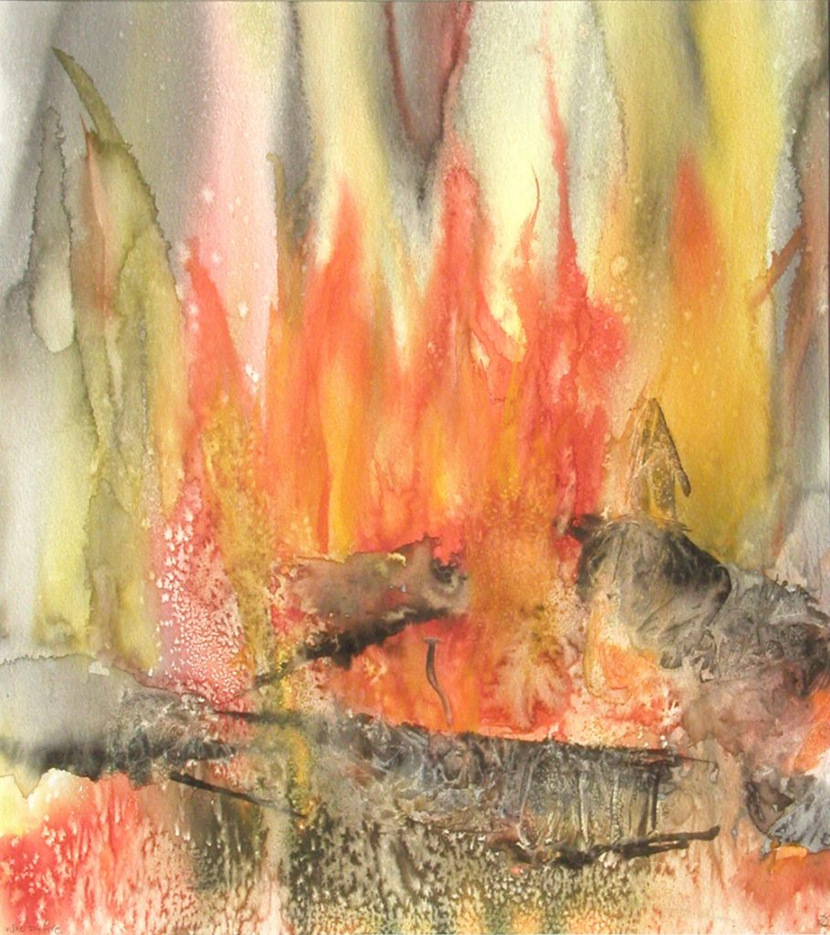 Who by Fire, Lynda Clark, Artist